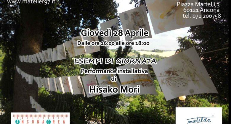 """Hisako Mori in """"Esempi di giornata"""""""