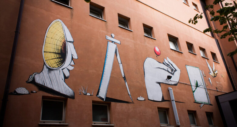 Wallpainting Scuole Faiani by Run